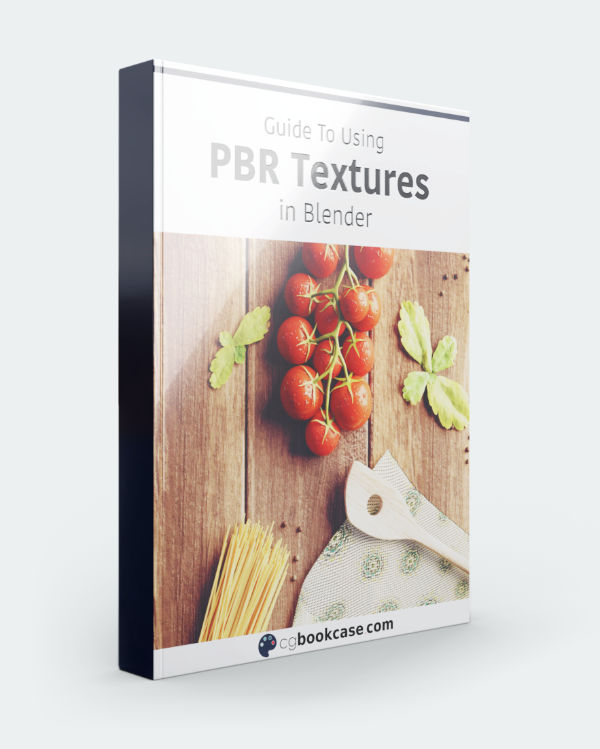 rendered image of the ebook cover of the PBR textures guide
